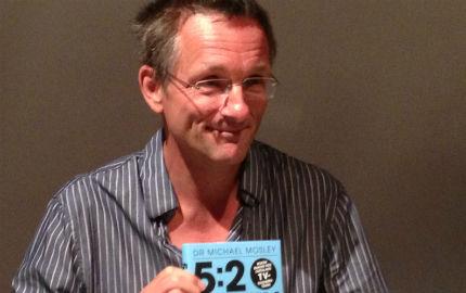 Michael Mosley - grundaren av 5:2-dieten. (Foto: Anna Sundesten, mabra.com)