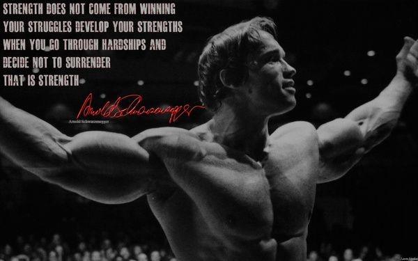 Arnold Schwarzenegger - målstyrd, inspirerande och min absolut största förebild.