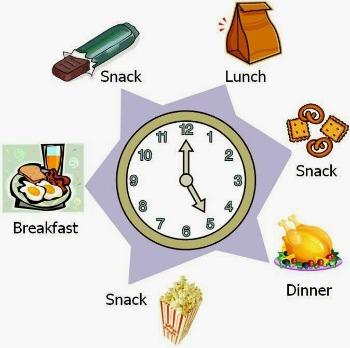 flera måltider liten