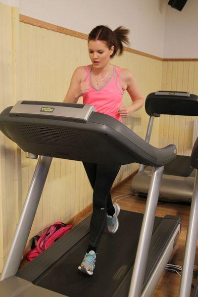 Malin Karlstrand från Malinsblogg.se gillar att springa. Träningsformen lämpar sig dock bäst när man inte siktar på att gå ner i vikt.